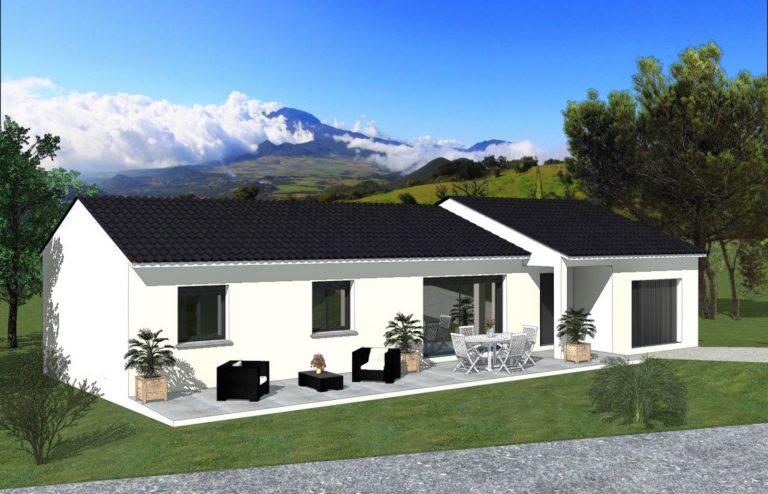 exemple d'une réalisation de maison neuve Tradibati de plain pied