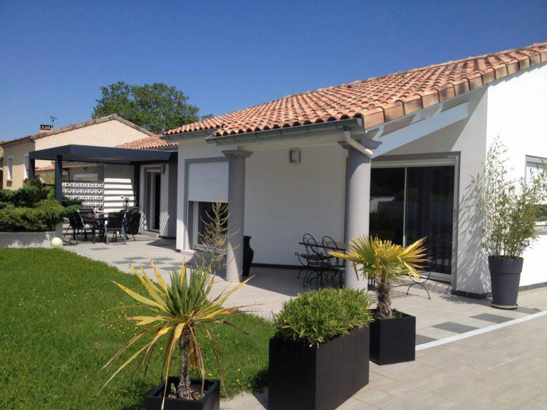 construction de maison réalisée à Valence dans la drôme